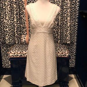 Trina Turk White Cotton Dress